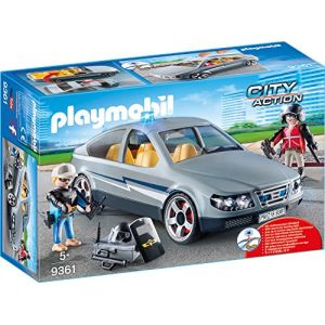 Playmobil 9361 City Action  - Voiture et course