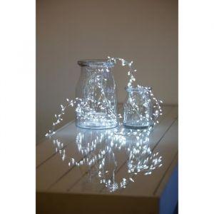 Akasa LOTTI Guirlande lumineuse grappe - 300 micro-LED MiniCluster Ø5 cm - Blanc froid - 2,5 m - LOTTI Guirlande lumineuse 2,5m - 300micro-LED Minicluster - Blanc froid - LED haute luminosité - Lumi fixe