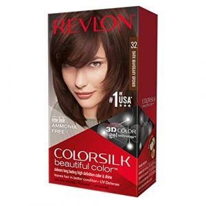 Revlon Colorsilk Beautiful Color Hair Color - 32 Dark Mahogany Brown