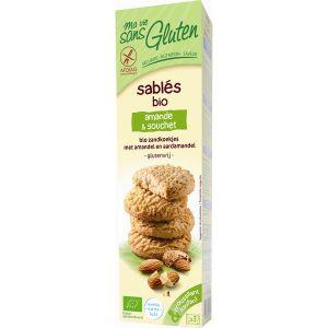 Ma vie sans gluten Sablés Bio amande & souchet (150g)