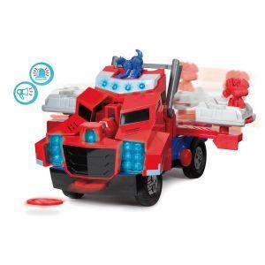 Majorette Transformers Optimus Prime camion lance disque 28 cm