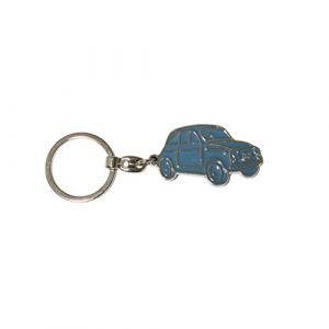 Fiat 500 Etui Porte-clés, Bleu Ciel (Turquoise) - FIKR15