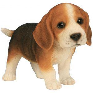 Riviera Bébé beagle en résine 23 cm