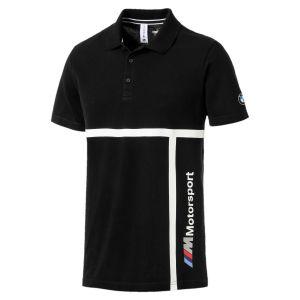 Puma Polo BMW, écusson épaule, impression latérale Noir - Taille L;M;S;XL;XXL