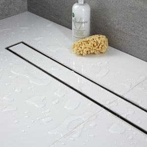Image de Hudson Reed Caniveau de douche à carreler 80cm