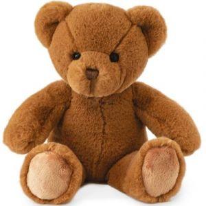 Histoire d'ours Peluche Ours titours marron 34 cm