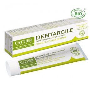 Cattier Dentargile - Dentifrice Bio anti-tartre à l'anis