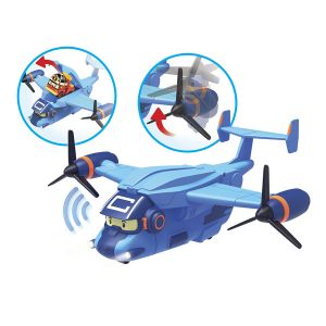 Ouaps L'avion de transport Robocar Poli