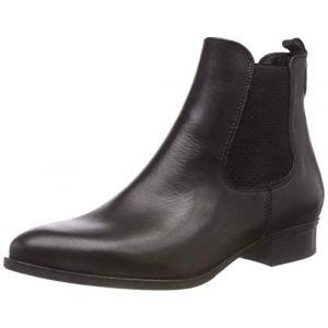 Tamaris 25388-21, Bottes Chelsea Femme, Noir (Black Leather 3), 41 EU