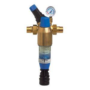 """Banyo Station d'eau domestique BWT Bolero 1"""" avec réducteur de pression et manomètre - PN 16"""