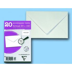 Clairefontaine 50 enveloppes 9 x 14 cm (90 g)