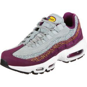 Nike Air Max 95 Premium chaussures Femmes bordeaux gris T. 39,0