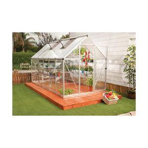 Habitat et Jardin Hybrid - Serre de jardin en polycarbonate 6,77 m2
