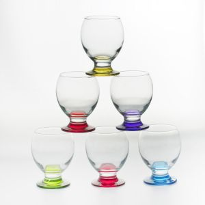 Table passion Nectar - 6 verres à pied (28 cl)