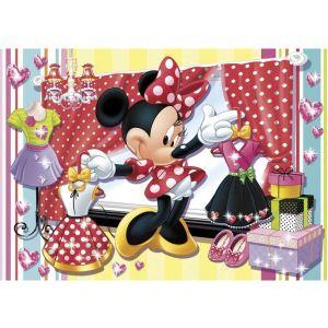 Clementoni Puzzle Minnie choisit sa robe 104 pièces