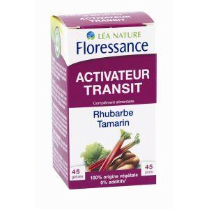 Floressance Activateur Transit - 45 gélules rhubarbe et tamarin