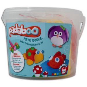 Toga Seau mix de 4 pots de 200g de pâte à modeler Padaboo