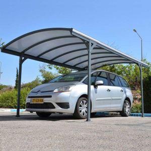 Chalet et Jardin Delage 5000 - Carport 1 voiture en acier 17 m2