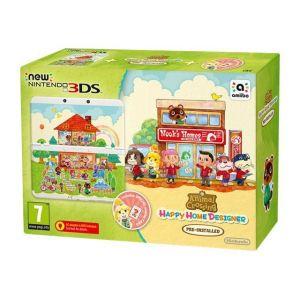 Nintendo New 3DS + Animal Crossing Happy Home Designer