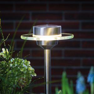 Paulmann Lampe solaire LED Ufo en inox IP44