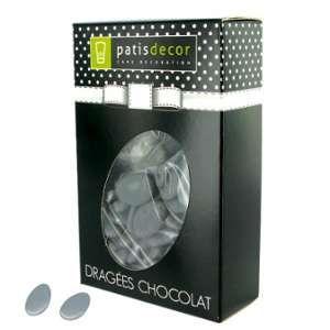 Patisdécor Dragées chocolat grises - 500g