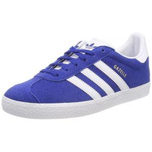 Adidas Gazelle J Mixte Enfant, Bleu (Reauni Ftwbla 000), 37 1/3 EU