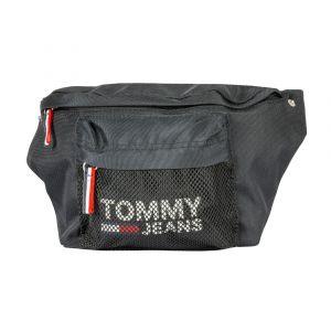 Tommy Jeans Sac banane Cool City - Ligne Noir Tommy Hilfiger