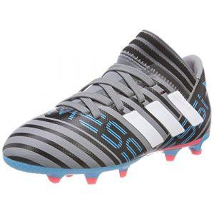 best sneakers e4198 e5fef Adidas Nemeziz Messi 17.3 FG, Chaussures de Football Mixte Enfant, Gris  (Grey