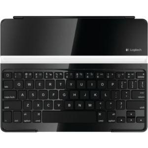 Logitech 920-004225 - Ultra Thin Keyboard Cover - Clavier étui sans fil Bluetooth pour iPad 1, 2