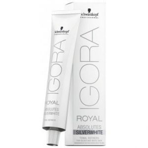Schwarzkopf Professional Teintures Igora Royal Igora Royal Absolutes Silverwhite Gris ardoise 60 ml