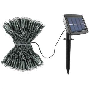 Guirlande solaire 200 LED 22m Jaune