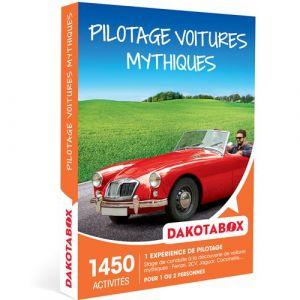 Dakotabox Coffret cadeau - Pilotage voitures mythiques