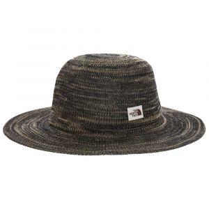 The North Face Women's Packable Panama - Chapeau taille S/M, noir/brun/gris