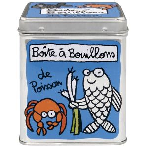 Derrière la porte Boîte à Bouillons De Poissons