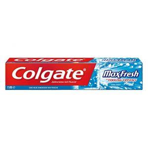Colgate MaxFresh Menthe Givrée - Dentifrice 75 ml 0407cbe43c6