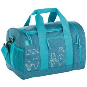 Image de Lässig Sac de sport About Friends chiné bleu