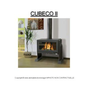 Godin 373136 - Poêle à bois Cubeco 2 14 kw