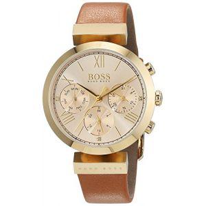 Hugo Boss 1502396 - Montre pour femme avec bracelet en cuir