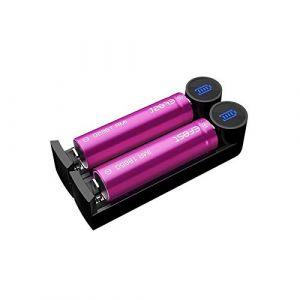 Efest Chargeur Slim K2 - Sans Tabac Ni Nicotine - Vente Interdite Aux Mineurs
