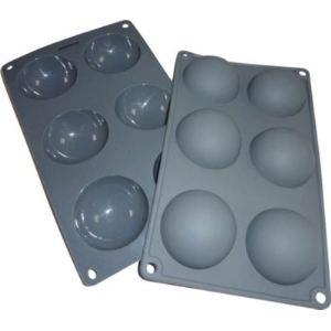EssentielB 1006592 - 2 moules 1/2 sphères en silicone