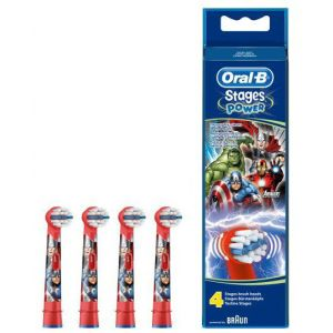 Oral-B 4 brossettes Avengers
