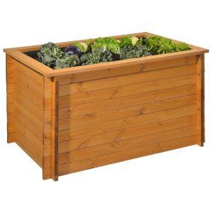 Gaspo Classic - Carré potager bois surélevé 130 x 80 x 76 cm