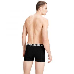 Jack & Jones Vêtements intérieurs Jack---jones Sense Trunks 3 Pack - Black - XL