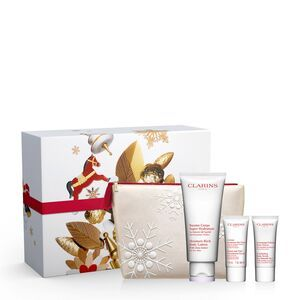 Clarins SOIN CORPS - Coffret Hydratant Corps+gommage+crème Mains