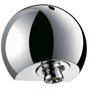 Delabie 709000 - Pomme de douche round fixe inviolable en applique laiton massif