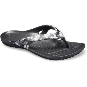Crocs Tongs KADEE II SEASONAL FLIP W Noir - Taille 36 / 37