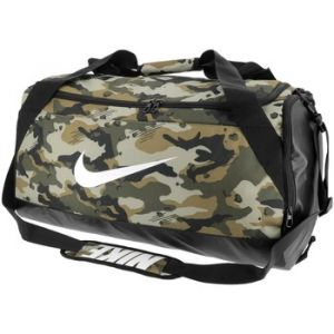 Nike Sac de sport de training Brasilia (taille moyenne) - Olive - Taille ONE SIZE - Unisex