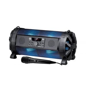 My deejay Enceinte sono autonome sur batterie à LED RGB 300W - USB/BLUETOOTH/RADIO - Controlable via application Ghetto Blaster