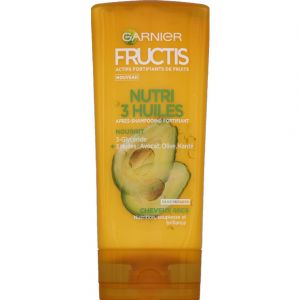 Garnier Fructis Nutri 3 huiles - Après-shampooing fortifiant
