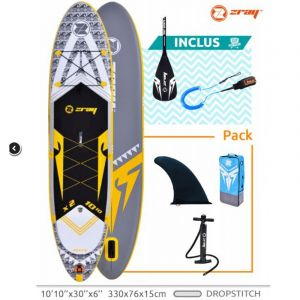 ZRay Stand Up Paddle gonflable X-Rider 10'10